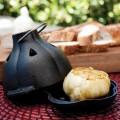 Charcoal Companion Cast Iron Garlic RoasterSqueezer Set