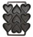 Cast Iron Heart Shaped Cake Pan